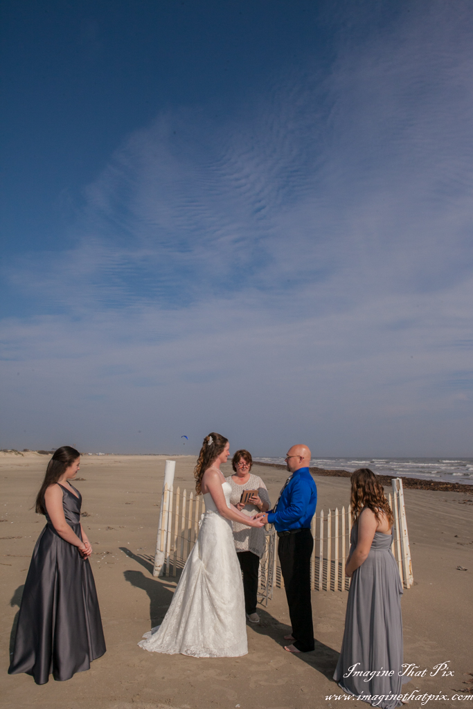 Erica And Paul S Galveston Texas Beach Wedding